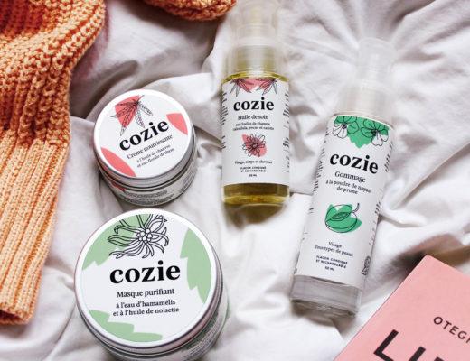 Cozie, cosmétiques naturels